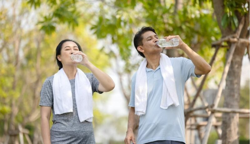 the importance of hydration nutrition and exercise to help prevent dementia